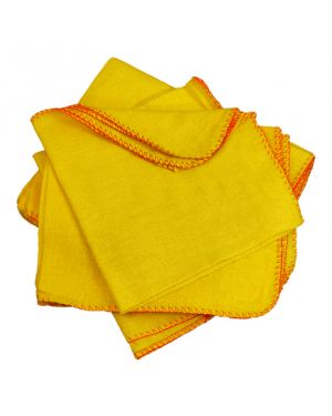 CleanWorks Yellow Dusters (Pack of 10)