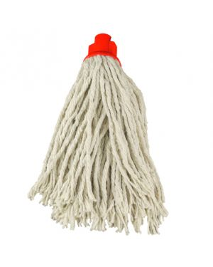 CleanWorks PY Socket Mop Red No.12 (Pack of 10)