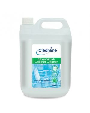 Cleanline Cabinet Glass Wash 5L
