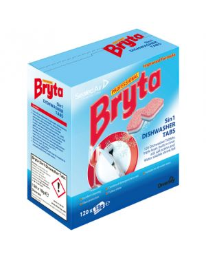 Bryta 5 in 1 Dishwasher Tablets (Pack of 120)