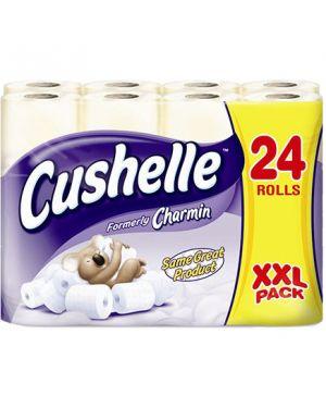Cushelle Comfort Toilet Tissue White 180 Sheet (Case of 24)