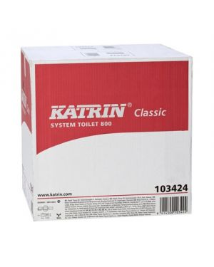Katrin Eco System Toilet Roll 2Ply 800Sheet (Case of 36)