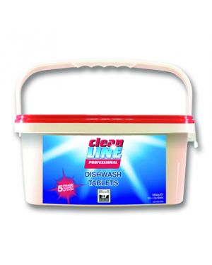 Cleanline Dishwash 5 In 1 Tablets (Case of 100)
